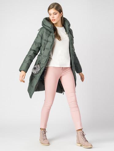 Пуховик текстиль, цвет зеленый, арт. 06006219  - цена 7990 руб.  - магазин TOTOGROUP