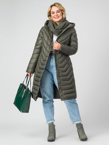 Пуховик текстиль, цвет болотный, арт. 06006284  - цена 4990 руб.  - магазин TOTOGROUP