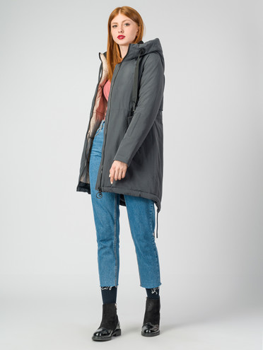 Пуховик текстиль, цвет серый, арт. 06006481  - цена 6290 руб.  - магазин TOTOGROUP