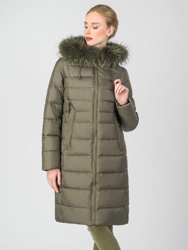 Пуховик текстиль, цвет болотный, арт. 06006491  - цена 5890 руб.  - магазин TOTOGROUP