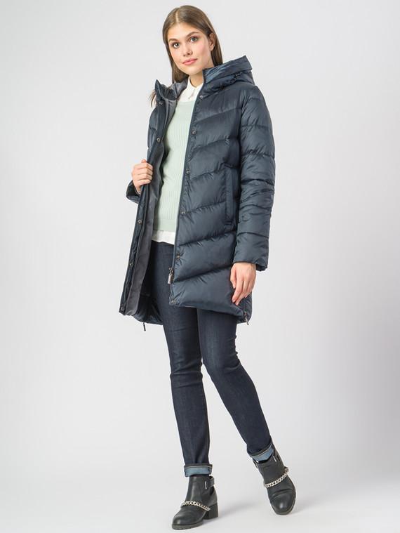 Пуховик текстиль, цвет синий, арт. 06006559  - цена 5890 руб.  - магазин TOTOGROUP