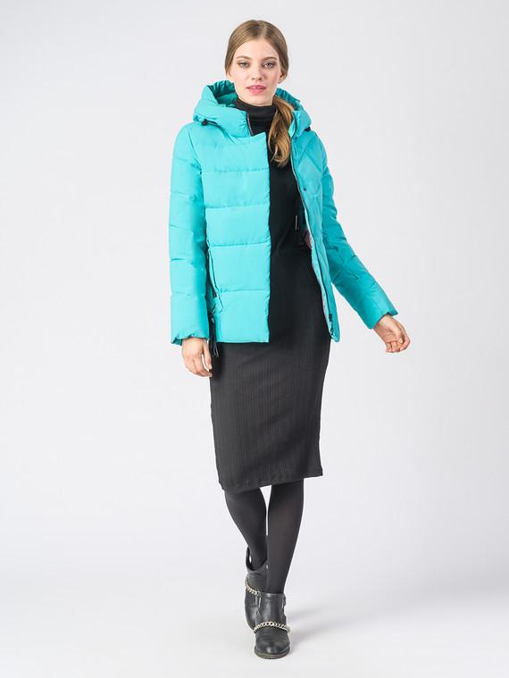 Пуховик текстиль, цвет бирюзовый, арт. 06006579  - цена 3590 руб.  - магазин TOTOGROUP