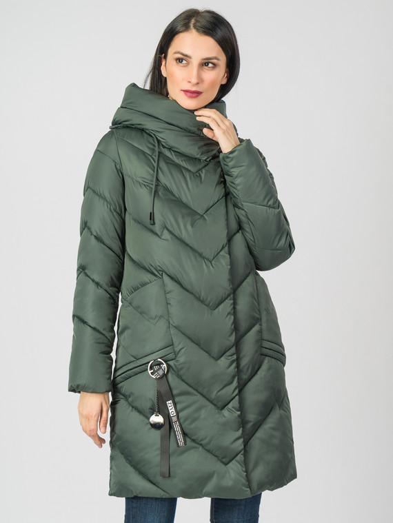Пуховик текстиль, цвет зеленый, арт. 06006621  - цена 5290 руб.  - магазин TOTOGROUP