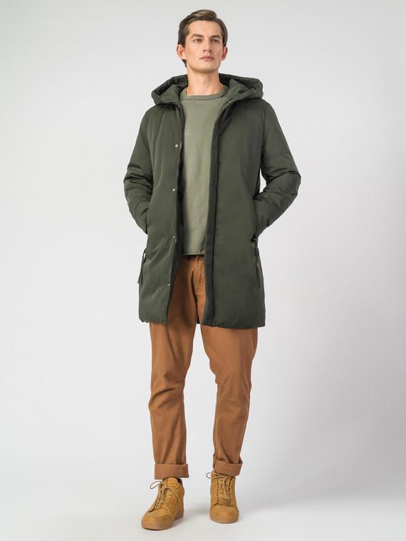 Пуховик текстиль, цвет зеленый, арт. 06006688  - цена 4490 руб.  - магазин TOTOGROUP