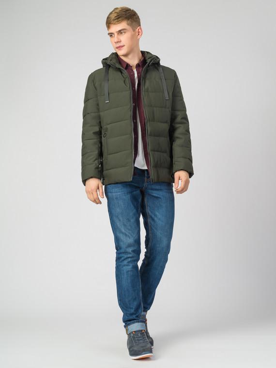 Пуховик текстиль, цвет зеленый, арт. 06006695  - цена 2550 руб.  - магазин TOTOGROUP