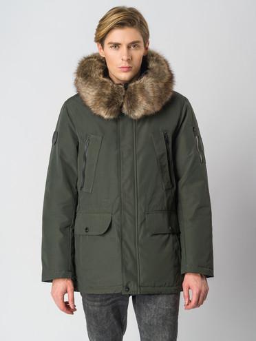 Пуховик текстиль, цвет зеленый, арт. 06006816  - цена 6990 руб.  - магазин TOTOGROUP