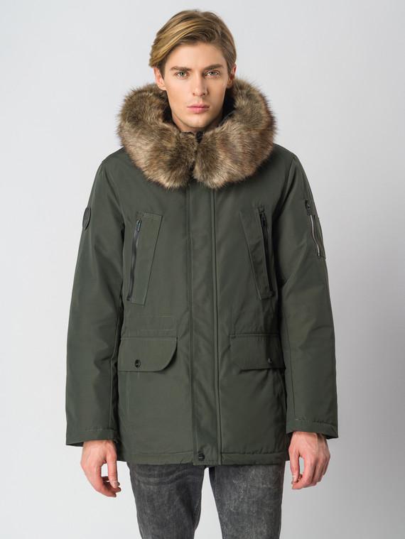 Пуховик текстиль, цвет зеленый, арт. 06006816  - цена 6630 руб.  - магазин TOTOGROUP