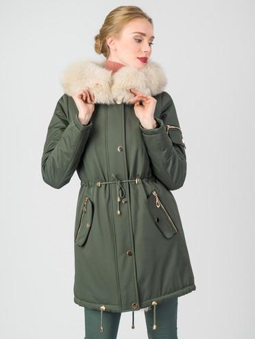 Парка текстиль, цвет зеленый, арт. 06006994  - цена 31990 руб.  - магазин TOTOGROUP