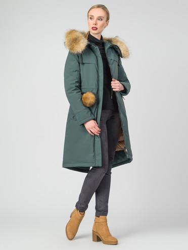 Парка текстиль, цвет зеленый, арт. 06007142  - цена 11290 руб.  - магазин TOTOGROUP