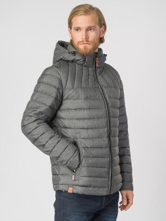 Пуховик текстиль, цвет серый, арт. 06007450  - цена 4990 руб.  - магазин TOTOGROUP