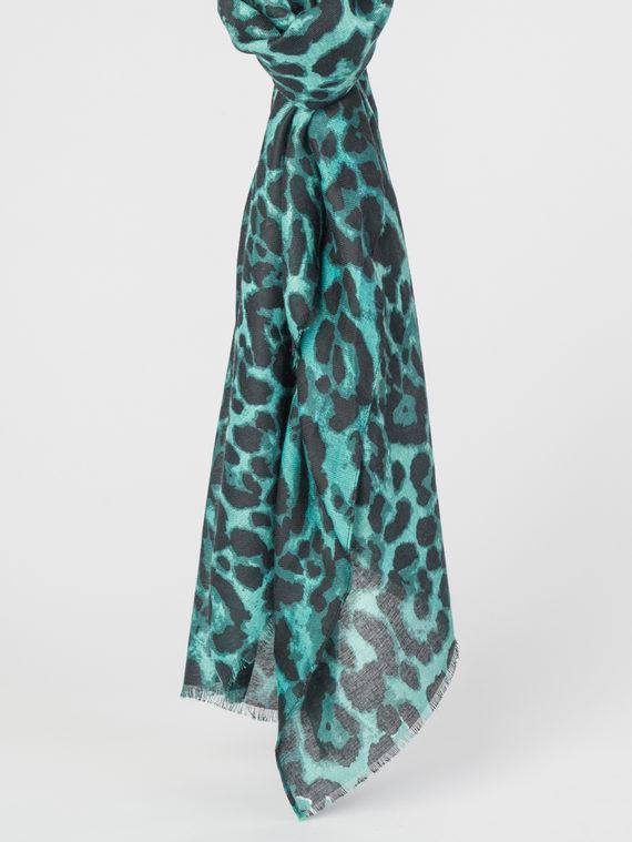 Шарф 100% вискоза, цвет зеленый, арт. 06107791  - цена 790 руб.  - магазин TOTOGROUP