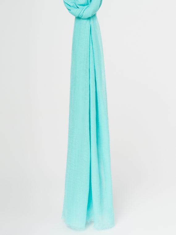 Шарф 100% бамбук, цвет бирюзовый, арт. 06107795  - цена 990 руб.  - магазин TOTOGROUP