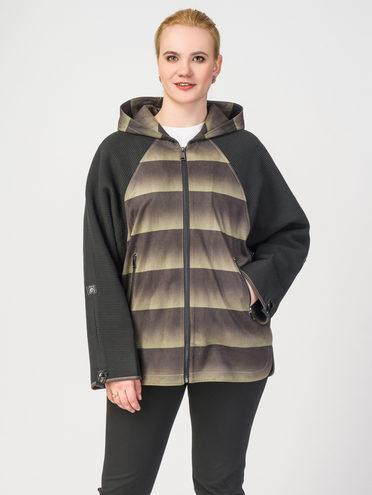 Кожаная куртка эко-замша 100% П/А, цвет болотный, арт. 06108125  - цена 4260 руб.  - магазин TOTOGROUP