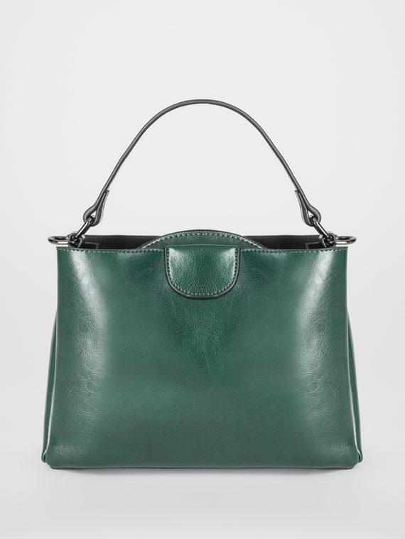 Сумка кожа теленок, цвет зеленый, арт. 06108265  - цена 3390 руб.  - магазин TOTOGROUP