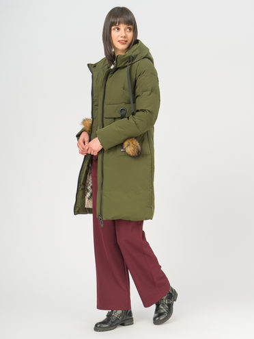 Пуховик 100% полиэстер, цвет зеленый, арт. 06108744  - цена 7490 руб.  - магазин TOTOGROUP