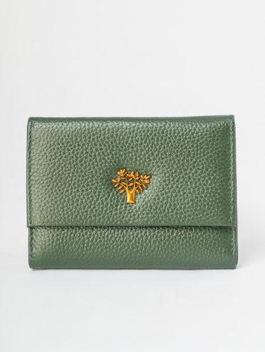 Кошелек кожа флоттер, цвет зеленый, арт. 06109638  - цена 990 руб.  - магазин TOTOGROUP