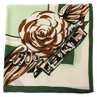 Шарф 80% п\э, 20% шелк, цвет зеленый, арт. 06700323  - цена 990 руб.  - магазин TOTOGROUP