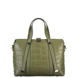 Сумка кожа, цвет зеленый, арт. 06700539  - цена 5990 руб.  - магазин TOTOGROUP