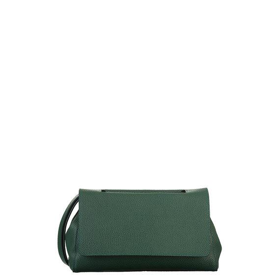Сумка кожа флоттер, цвет зеленый, арт. 06700541  - цена 3190 руб.  - магазин TOTOGROUP