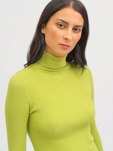 Джемпер 45% вискоза 30% полиэстер 25% нейлон, цвет зеленый, арт. 06720168  - цена 990 руб.  - магазин TOTOGROUP