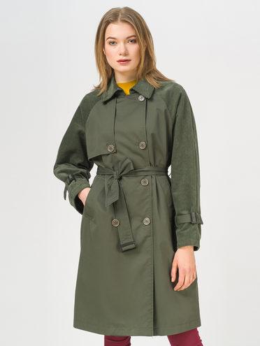 Ветровка 100% хлопок, цвет зеленый, арт. 06809957  - цена 3990 руб.  - магазин TOTOGROUP