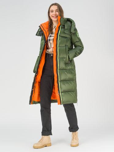Пуховик 100% полиэстер, цвет зеленый, арт. 06810586  - цена 8990 руб.  - магазин TOTOGROUP