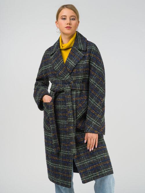 Текстильное пальто артикул 06810654/42 - фото 2