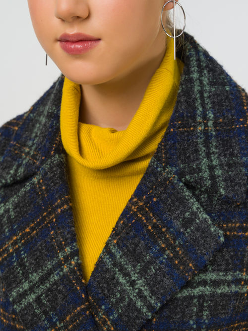 Текстильное пальто артикул 06810654/42 - фото 3