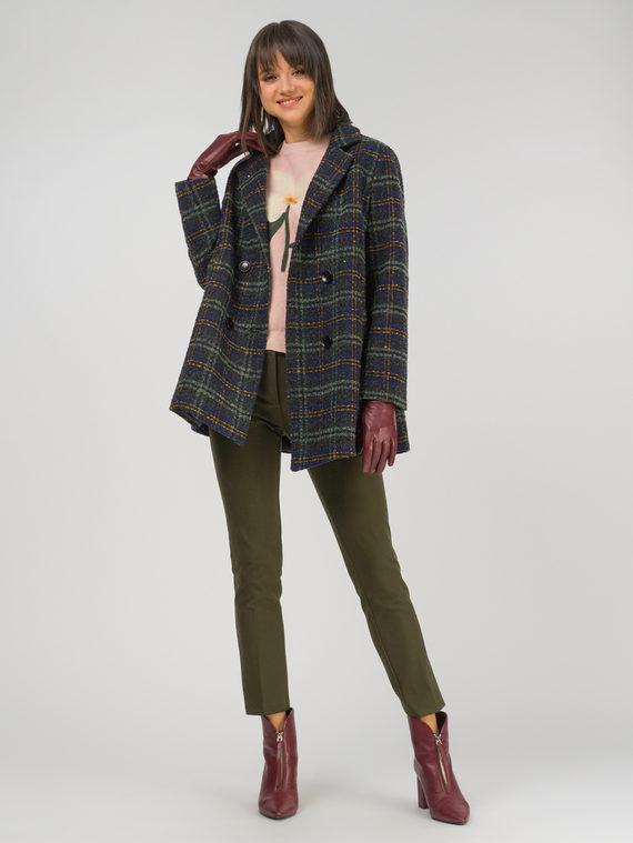 Текстильная куртка 35% шерсть, 65% полиэстер, цвет зеленый, арт. 06810746  - цена 6290 руб.  - магазин TOTOGROUP
