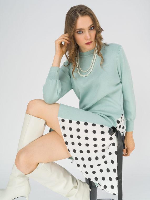 Платье 50% вискоза, 28% полиэстер, 22% нейлон, цвет зеленый, арт. 06811148  - цена 3190 руб.  - магазин TOTOGROUP