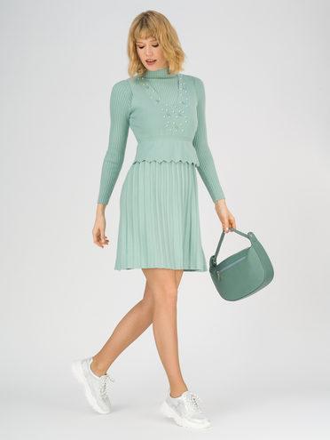 Платье 65% вискоза,35% нейлон, цвет зеленый, арт. 06811165  - цена 2420 руб.  - магазин TOTOGROUP