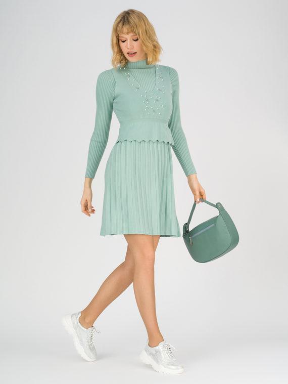 Платье 65% вискоза,35% нейлон, цвет зеленый, арт. 06811165  - цена 4260 руб.  - магазин TOTOGROUP