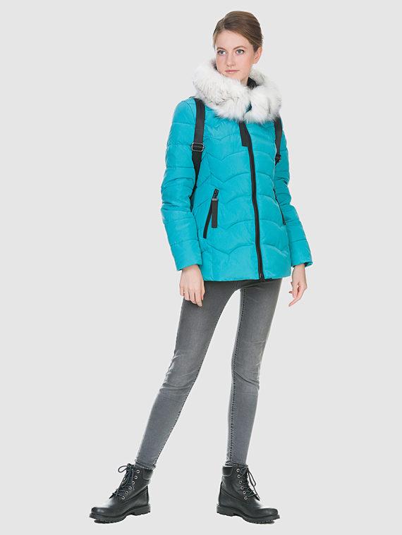 Пуховик текстиль, цвет зеленый, арт. 06900726  - цена 3590 руб.  - магазин TOTOGROUP