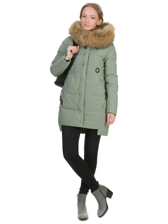 Пуховик текстиль, цвет зеленый, арт. 06900950  - цена 5290 руб.  - магазин TOTOGROUP