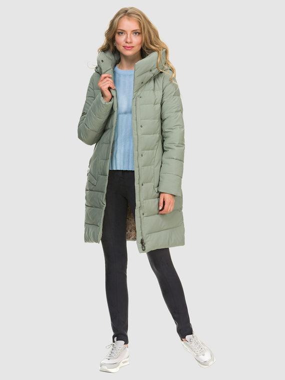 Пуховик текстиль, цвет зеленый, арт. 06900962  - цена 3990 руб.  - магазин TOTOGROUP
