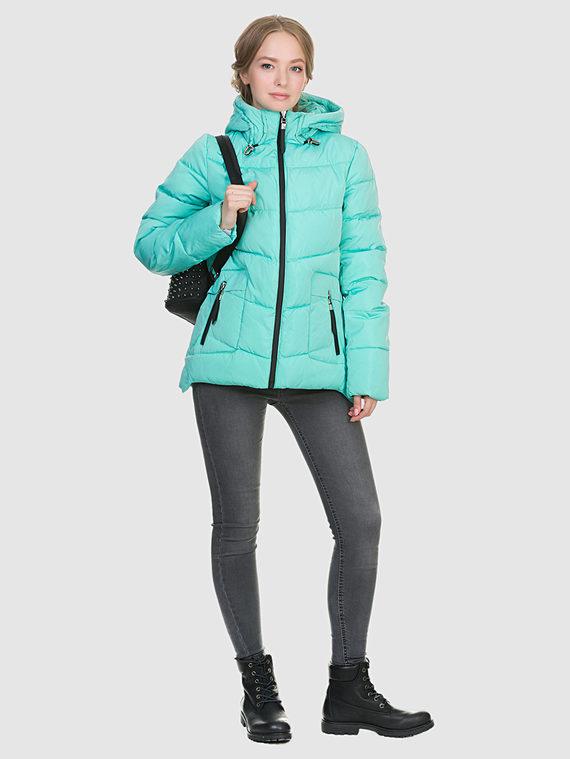 Пуховик текстиль, цвет зеленый, арт. 06900968  - цена 3390 руб.  - магазин TOTOGROUP