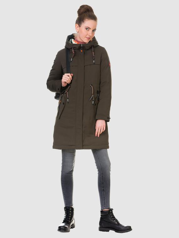 Пуховик текстиль, цвет коричневый, арт. 06901011  - цена 6630 руб.  - магазин TOTOGROUP
