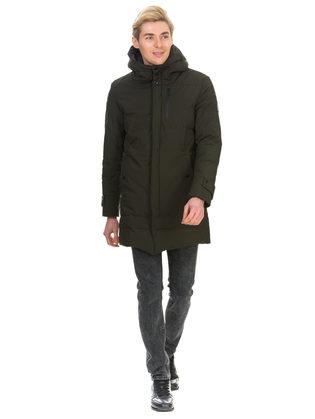 Пуховик текстиль, цвет зеленый, арт. 06901026  - цена 5890 руб.  - магазин TOTOGROUP