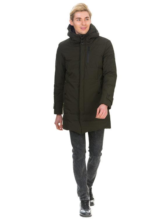 Пуховик текстиль, цвет зеленый, арт. 06901026  - цена 3390 руб.  - магазин TOTOGROUP