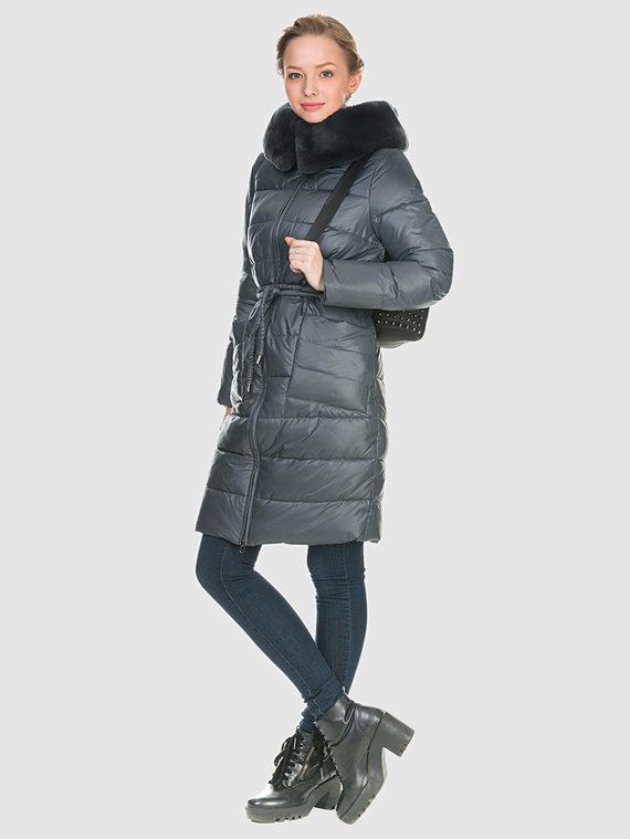 Пуховик текстиль, цвет серый, арт. 06901071  - цена 8490 руб.  - магазин TOTOGROUP