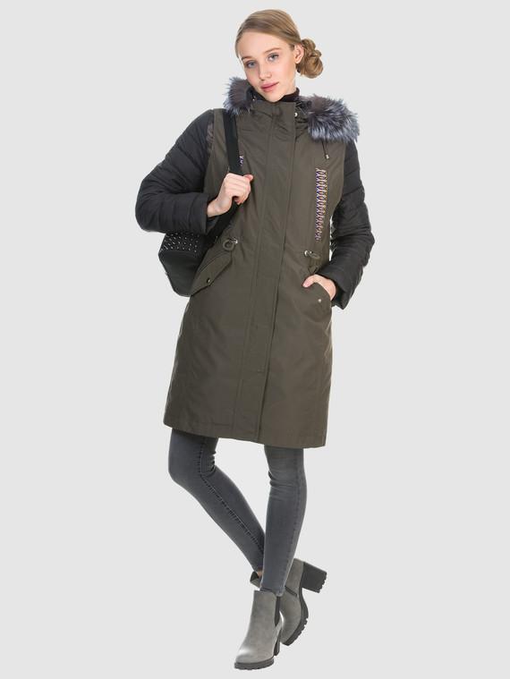 Пуховик текстиль, цвет зеленый, арт. 06902679  - цена 11290 руб.  - магазин TOTOGROUP