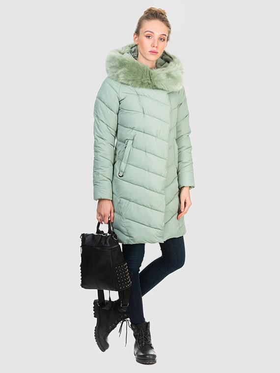 Пуховик текстиль, цвет зеленый, арт. 06903603  - цена 3990 руб.  - магазин TOTOGROUP