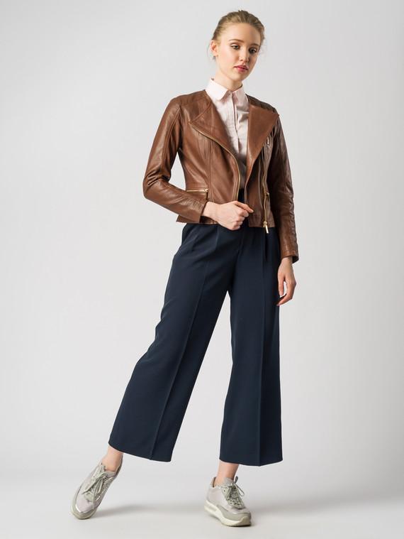 Кожаная куртка кожа , цвет коричневый, арт. 07005502  - цена 9990 руб.  - магазин TOTOGROUP