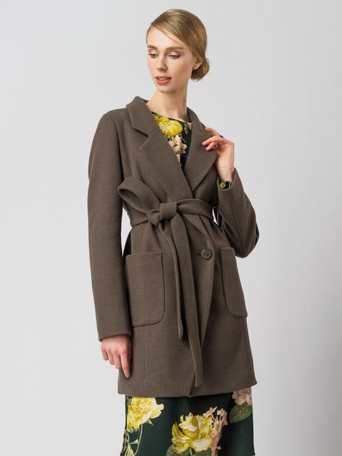 Текстильное пальто артикул 07005832/42 - фото 2