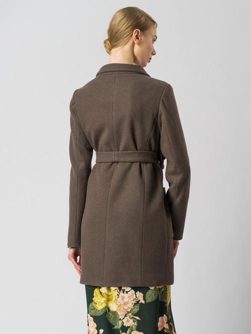 Текстильное пальто артикул 07005832/42 - фото 3