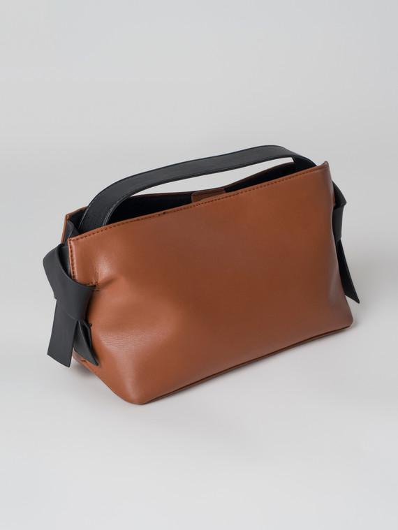 Сумка эко кожа теленок, цвет коричневый, арт. 07006003  - цена 2060 руб.  - магазин TOTOGROUP