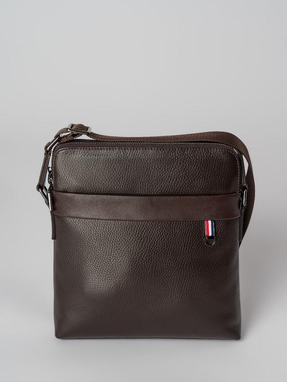 Сумка кожа флоттер, цвет коричневый, арт. 07006027  - цена 4490 руб.  - магазин TOTOGROUP