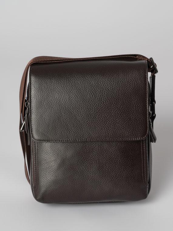 Сумка кожа флоттер, цвет коричневый, арт. 07006029  - цена 3990 руб.  - магазин TOTOGROUP