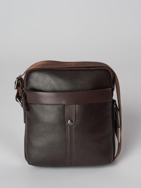 Сумка кожа флоттер, цвет коричневый, арт. 07006030  - цена 4490 руб.  - магазин TOTOGROUP