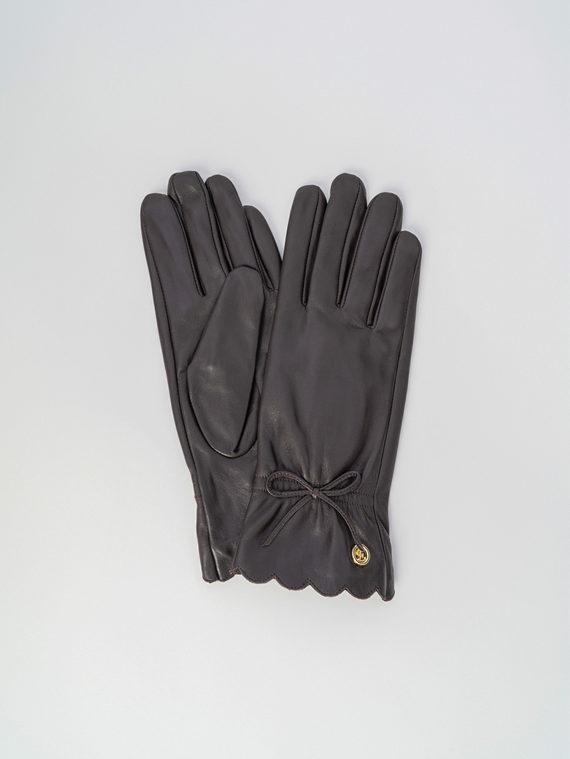 Перчатки кожа , цвет коричневый, арт. 07006074  - цена 1260 руб.  - магазин TOTOGROUP